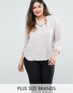 Блузка Elvi Plus - Кремовый