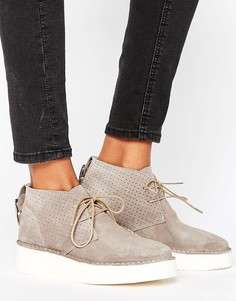 Ботинки чукка Selected Femme Aletta - Серый