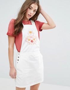 Сарафан с вышивкой Vero Moda Florence - Белый