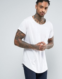 Длинная футболка с круглым вырезом G-Star Vontoni - Белый