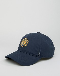 Синяя бейсболка с логотипом из парусины The North Face - Синий
