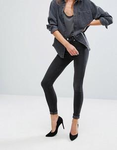 Супероблегающие джинсы с завышенной талией Levis Mile - Черный Levis®