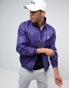 Ветровка с воротником-стойкой Fila Vintage - Фиолетовый