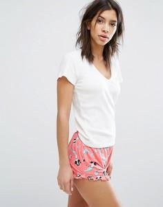 Пижамный комплект с русалками Chelsea Peers - Темно-синий