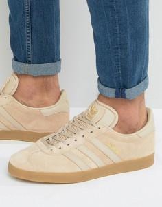Коричневые кроссовки adidas Originals Gazelle BB5264 - Коричневый