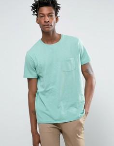 Трикотажная футболка с карманом Lee - Синий