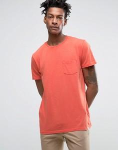 Трикотажная футболка с карманом Lee - Красный