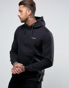 Классическое худи с логотипом Illusive London - Черный