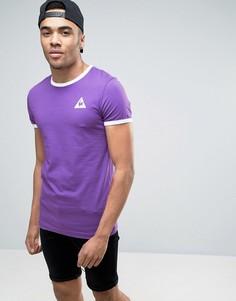 Фиолетовая футболка Le Coq Sportif Ringer эксклюзивно для ASOS 1611261 - Фиолетовый