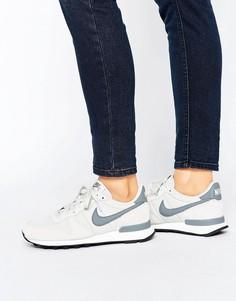 Бежевые кроссовки Nike Internationalist - Бежевый