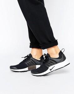 Черные кроссовки Nike Presto - Черный