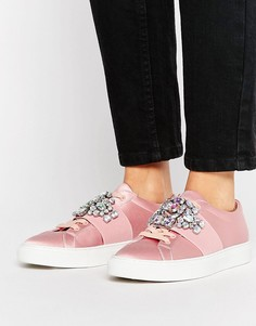 Декорированные кроссовки ASOS DECODE - Розовый