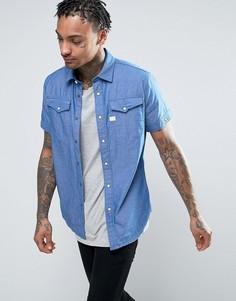 Рубашка с короткими рукавами G-Star Tacoma - Синий