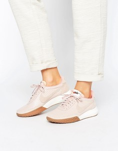 Розовые кроссовки Nike Roshe Waffle Racer - Розовый