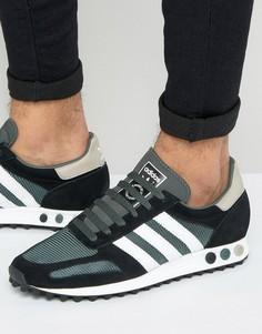 Зеленые кроссовки adidas Originals LA OG BB2861 - Зеленый