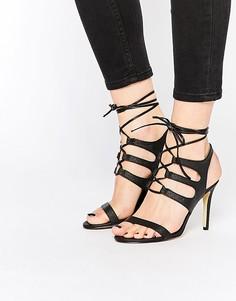 Сандалии на каблуке New Look Ghilly - Черный