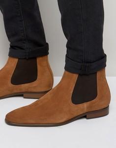 Замшевые ботинки челси KG Kurt Geiger Francis - Коричневый