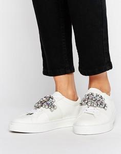 Декорированные кроссовки ASOS DECODE - Белый