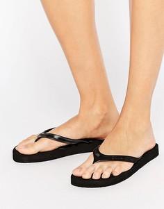 Черные шлепанцы Calvin Klein Jeans Piccola - Черный