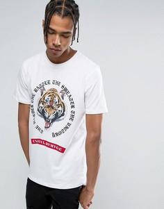 Белая футболка с тигром Criminal Damage - Белый
