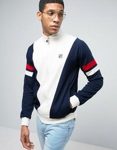 Спортивная куртка со вставками Fila Vintage - Темно-синий