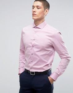 Строгая рубашка скинни Calvin Klein - Розовый