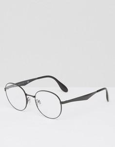 Очки с прозрачными стеклами Ray Ban - Черный