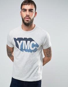Футболка с логотипом YMC Shadow - Серый