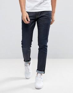 Синие джинсы слим Pepe Jeans Finsbury - Синий