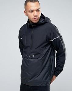 Черная куртка на молнии с логотипом Nike Air 832156-010 - Черный
