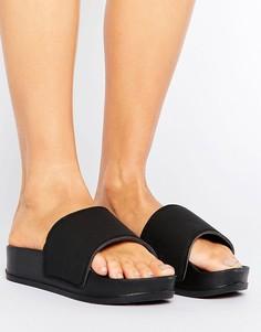 Матовые сандалии на платформе Truffle - Черный