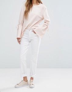 Джинсы в винтажном стиле Vero Moda - Белый