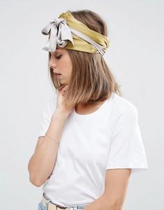 Широкий шифоновый головной платок ASOS - Мульти