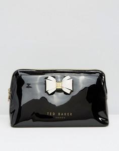 Большая косметичка с бантиком Ted Baker - Черный