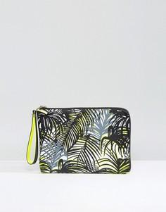 Клатч с принтом пальм Pauls Boutique - Мульти