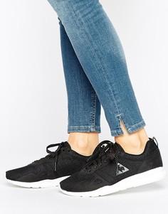 Черные сетчатые кроссовки Le Coq Sportif R600 - Черный