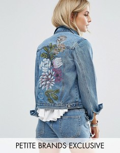 Джинсовая куртка Glamorous Petite - Синий