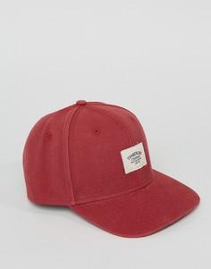 Красная 6-панельная кепка Timberland - Красный