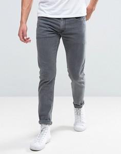 Серые узкие джинсы стретч Diesel Thommer 681D - Серый