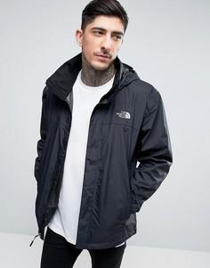 Черная куртка с капюшоном The North Face Resolve 2 - Черный