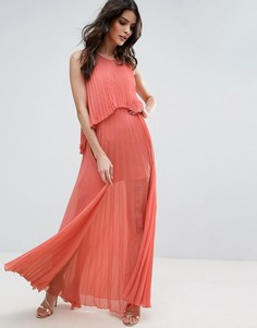 Плиссированное платье Jovonna Angel Delight - Розовый