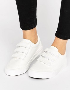 Кроссовки с тремя ремешками New Look - Белый