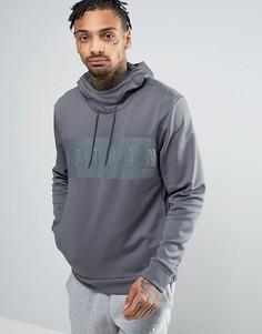 Худи с большим логотипом Nike Jordan 831342-021 - Серый