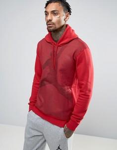 Худи с логотипом Nike Jordan Jumpman 834369-687 - Красный