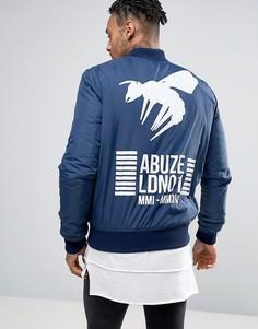 Бомбер Abuze London LDN01 MA1 - Синий