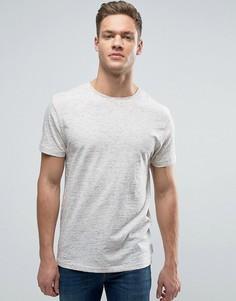 Меланжевая футболка Bellfield - Белый