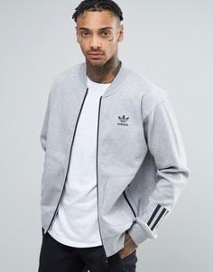 Серая свободная спортивная куртка adidas Originals Paris Pack BK0521 - Серый