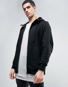Черное худи на молнии adidas Originals X By O BQ3092 - Черный