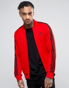 Красная спортивная куртка adidas Originals Superstar BK5918 - Красный