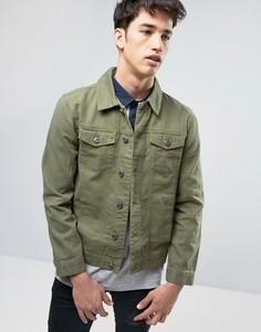 Джинсовая куртка Brave Soul - Зеленый